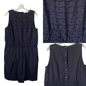 See By Chloe Black Linen Dress